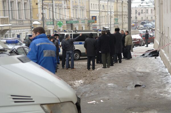 В центре Москвы убит адвокат