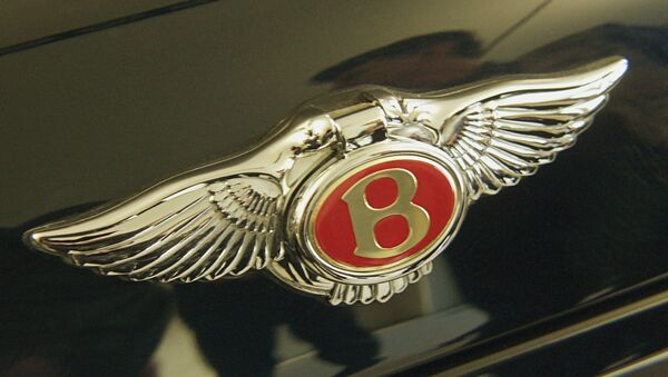Логотип Бентли. Архивное фото