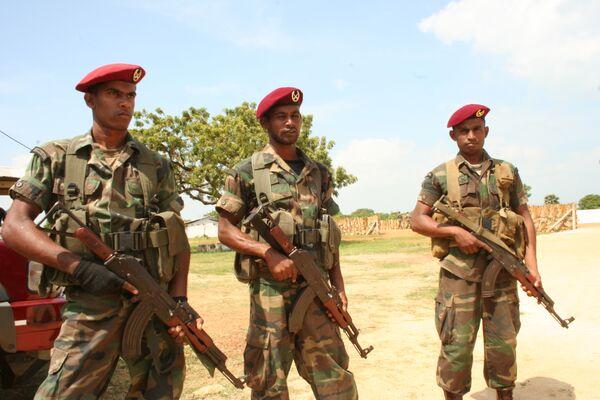 Военные Шри-Ланки