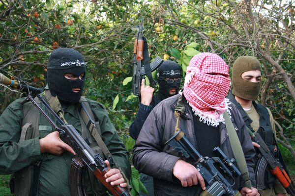 Палестинские боевики, сектор Газа. Архив