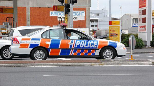 Полицейская машина в Новой Зеландии