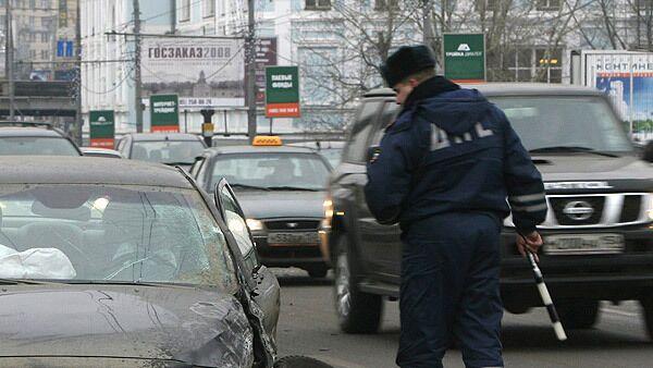 Движение затруднено в центре Москвы, где горит здание ОАО РЖД