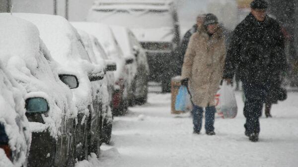В понедельник температура воздуха в Москве будет около нуля
