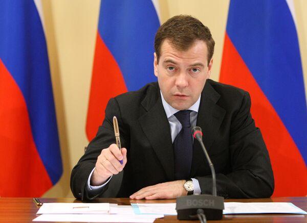 Медведев обещает губернаторам продолжение ротации кадров