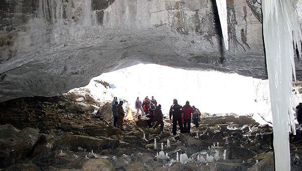 Азасская пещера на юге Кузбасса