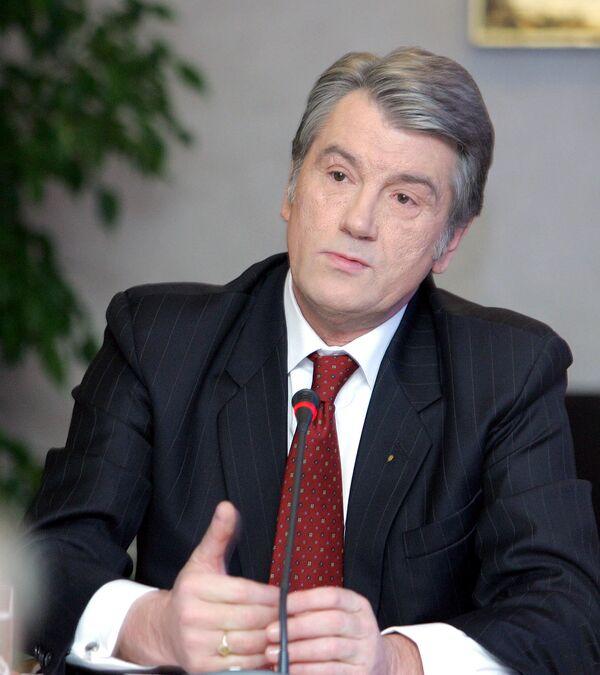 Ющенко соболезнует в связи с трагедией во Владимирской области