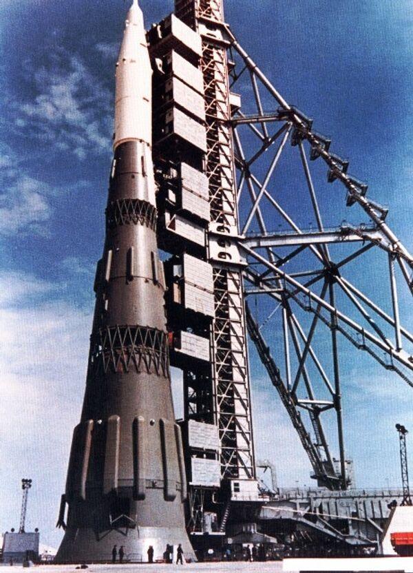 Ракета Н1 на старте