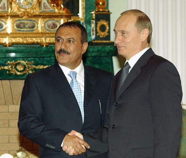 Президент Йемена Али Абдалла Салех. Архив