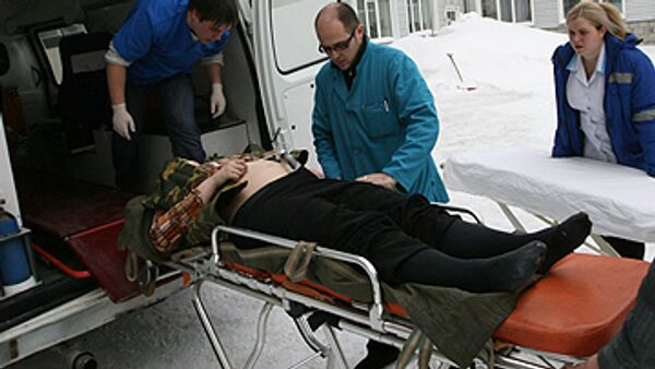 Самолет МЧС с 5 ранеными при взрыве в Назрани прилетел в Москву