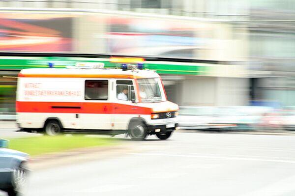 В Германии машина врезалась в толпу, не менее трех человек погибли
