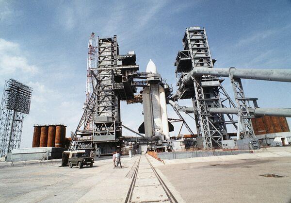 Ракета-носитель Энергия на Байконуре