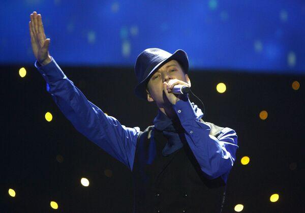 Певец Саша Сон (Sasha Son) - участник конкурса Евровидение 2009 от Литвы