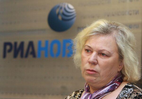 Пресс-конференция Галины Глуховой, матери сержанта Александра Глухова