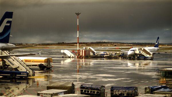 Аэропорт Хельсинки. Архивное фото