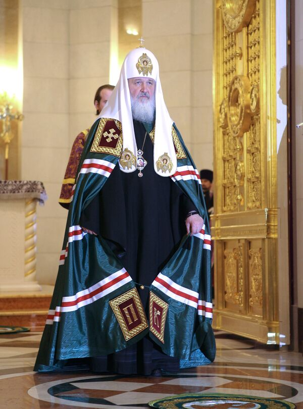 Политический курс России отвечает национальным интересам - патриарх