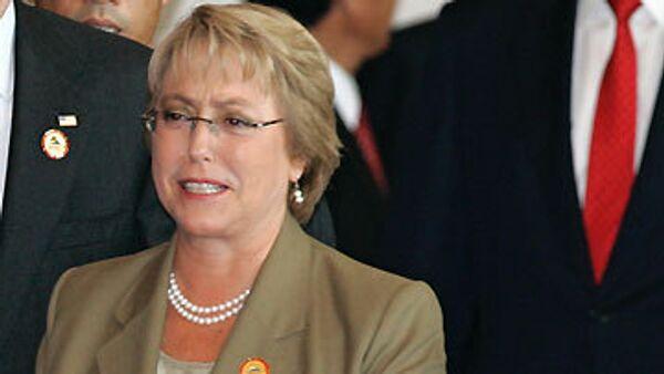 Президент Чили Мишель Бачелет. Архив