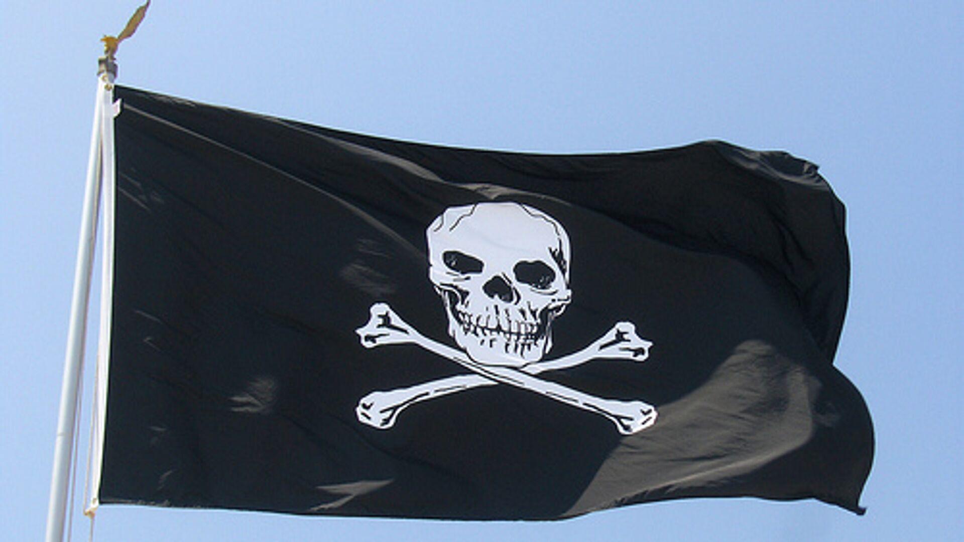 Пиратский флаг - РИА Новости, 1920, 19.09.2020