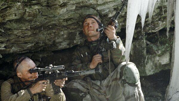 Контртеррористическая операция в Чечне