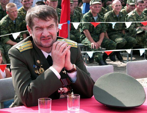 Командир батальона Минобороны России Восток в Чечне