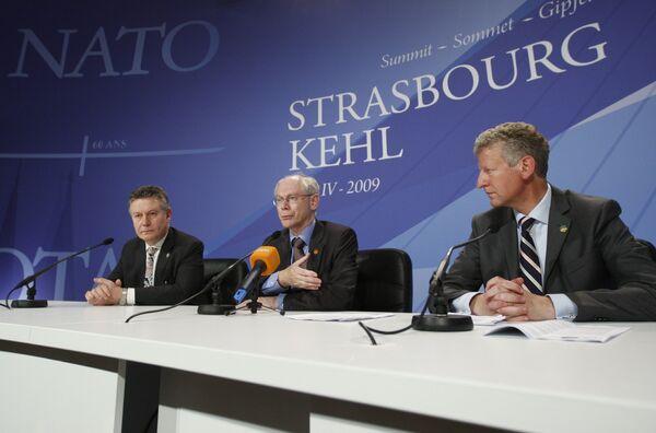 Саммит НАТО в Страсбурге