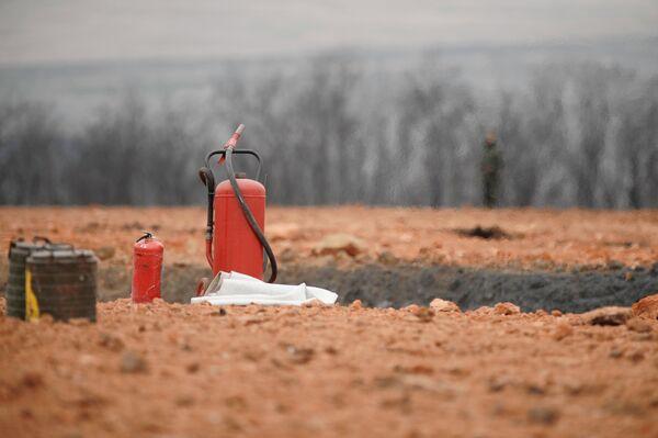 Пожар на газопроводе в Ингушетии прекратился