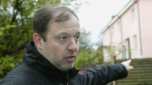 Представитель Российской экологической партии Зеленые Олег Митволь. Архивное фото