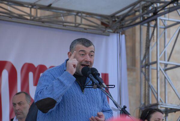 Один из лидеров грузинской оппозиции создает новое движение
