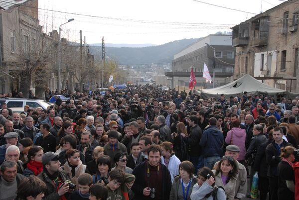 Акции протеста в Грузии. Архив