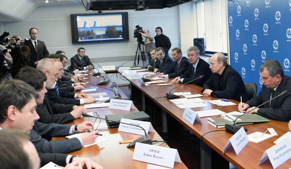 Премьер-министр РФ Владимир Путин посетил Калининскую АЭС