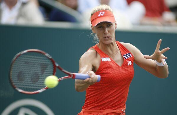 Елена Дементьева досрочно стала полуфиналисткой турнира в Чарльстоне