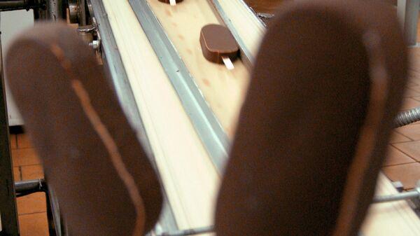 Линия по производству шоколадных эскимо-мороженое