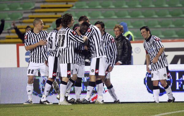 Наполи и Удинезе не выявили победителя в матче чемпионата Италии