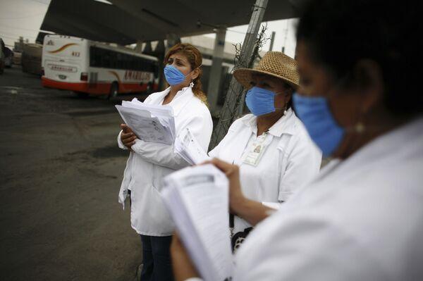 Президент Мексики обсуждает с губернаторами ситуацию с гриппом A/H1N1