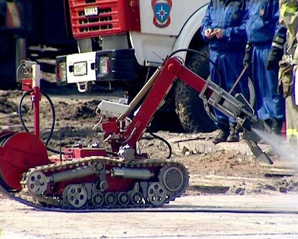 Все виды роботов-спасателей на учениях МЧС