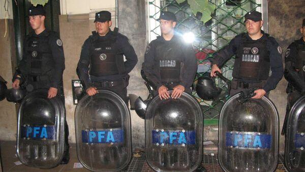 Аргентинская полиция. Архивное фото