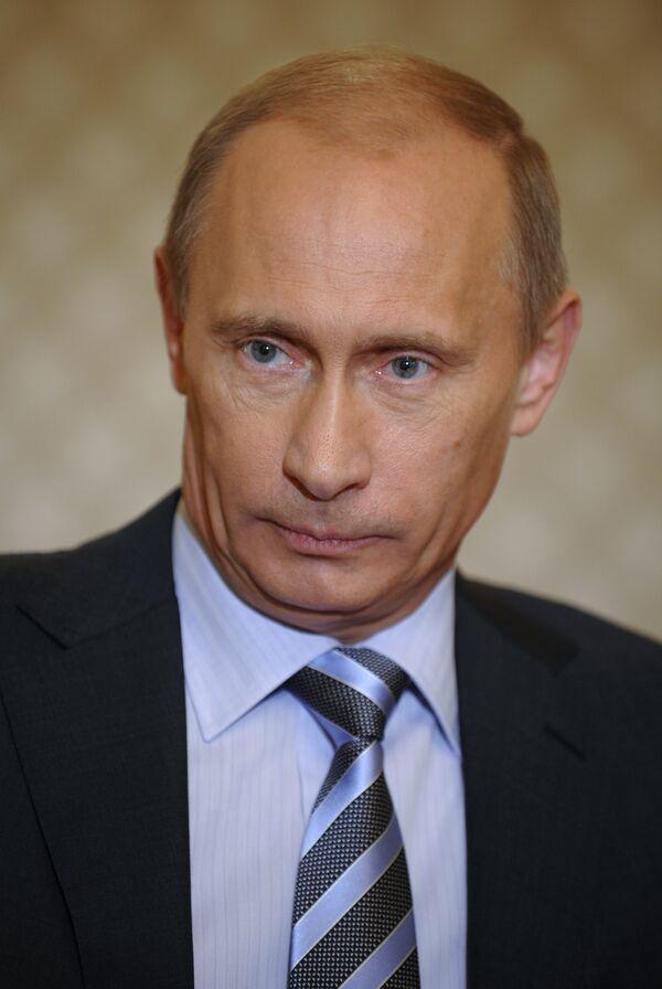 Премьер-министр РФ Владимир Путин дал интервью японским СМИ
