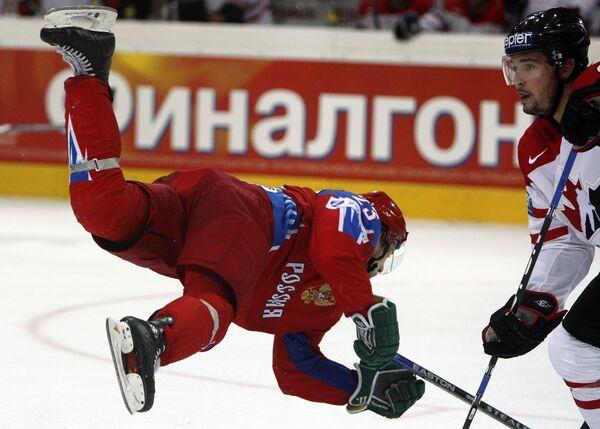 Финальный матч ЧМ по хоккею Россия - Канада