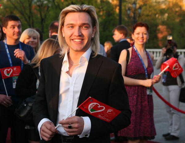 Петр Елфимов на официальном открытии конкурса Евровидение-2009 в Евродоме