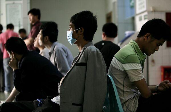 Число заболевших гриппом A/H1N1 на материковом Китае превысило 18 тыс