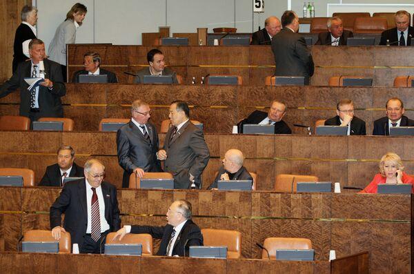 Правительственный час в Совете Федерации