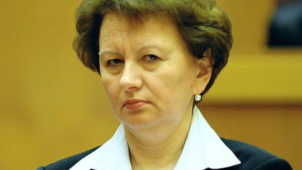 Спикер молдавского парламента Зинаида Гречаный