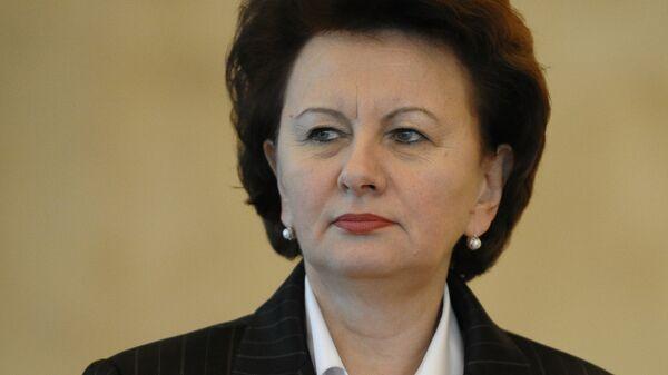 Зинаида Гречаная - кандидат в президенты Молдавии от партии коммунистов