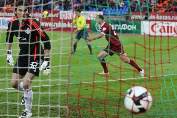Футбол. Чемпионат России 2009. 10-й тур. Рубин (Казань) - Локомотив (Москва)