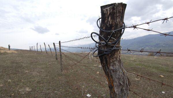Разграничительная линия зоны действия миротворческих сил между Южной Осетией и Грузией