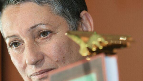 Церемония награждения победителей второго сезона Национальной литературной премии «Большая книга»