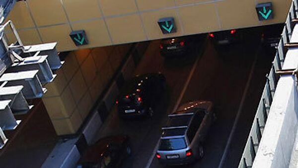 Автомобильный тоннель. Архив
