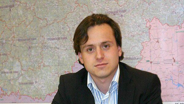 Руководитель департамента финансов Тверской области Алексей Каспржак