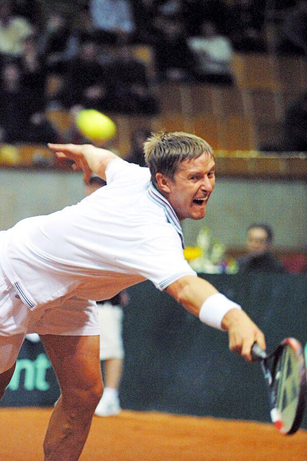 Теннисист Евгений Кафельников