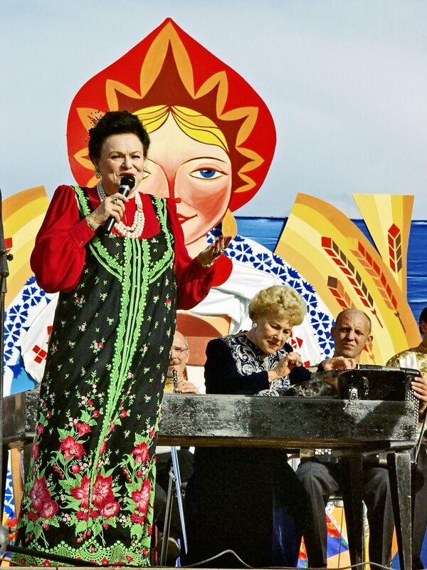 Выступление Людмилы Зыкиной в Коломенском