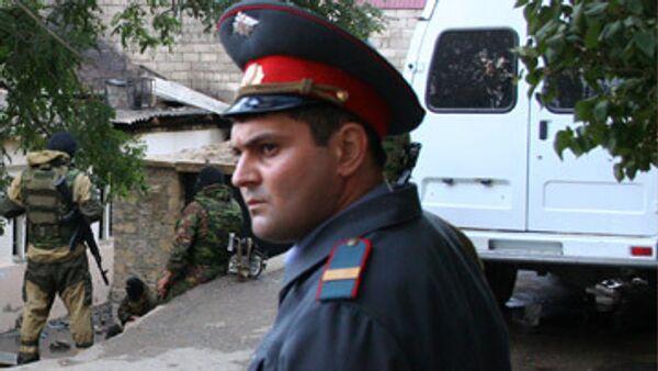 Один боевик уничтожен и один ранен в Махачкале